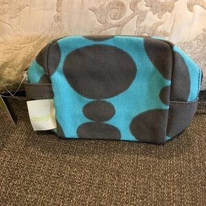 NWT Design small cosmetic bag by Donna Gorman